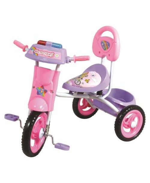 Велосипед детский 1toy Ну погоди 3-х колесный 10 дюймовый Т54056
