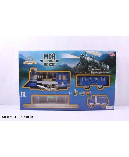 Play Smart Железная дорога Мой первый поезд 268см полотно Р41379