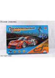 Play Smart автотрек генераторный параллельные гонки трасса 505см Р40949