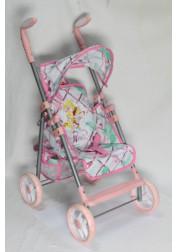 1toy Winx коляска для кукол премиум 535х34х68см розовая Т56210