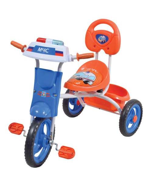Велосипед детский 1toy Спецслужбы 3-х колесный 10 дюймовый Т57613