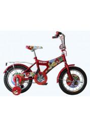 Велосипедсипед Navigator Angry Birds двухколесный с боковыми колесами (красный)