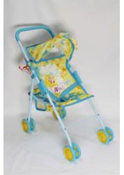1toy Winx коляска для кукол 475х25х55см желтая Т56211