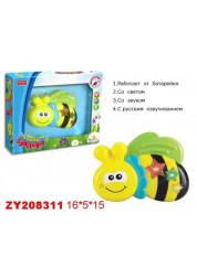 Zhorya музыкальные букашки Пчелка свет звук 215х55х17см Х75254