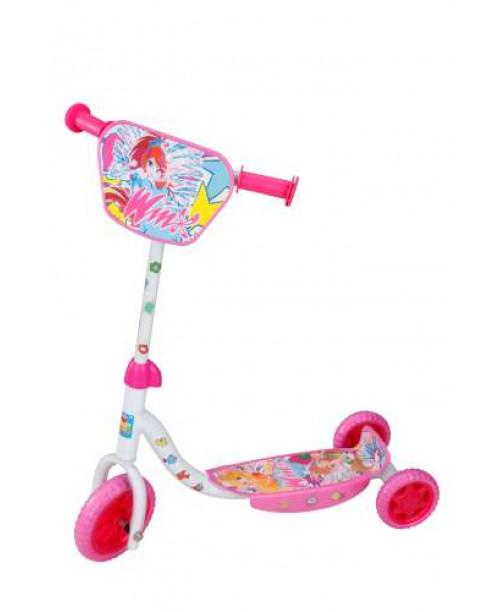 Самокат детский 1toy WINX 3-х колесный Т56810