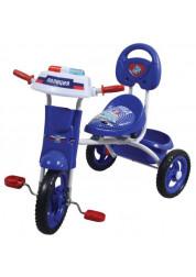 Велосипед детский 1toy Спецслужбы 3-х колесный 10 дюймовый Т57614