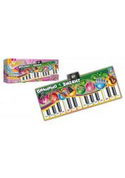 1toy Интерактивный коврик Пианино-Гигант 180х74 Т51677