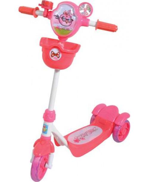 Самокат детский1toy Angry birds 3-х колесный Т56862