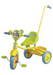 Велосипед детский 1toy Ну, погоди! 3-х колесный 10 дюймовый с ручкой Т54030