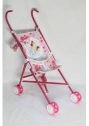 1toy Winx коляска для кукол 42х275х58см красная Т55783
