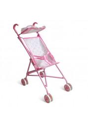 1toy коляска для кукол 395х275х55см розовая Т52256