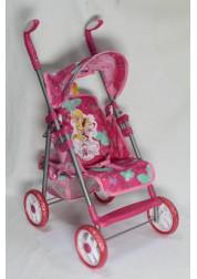 1toy Winx коляска для кукол премиум 535х34х68см красная Т55784