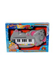 Тилибом пианино Слоник 3 карточки-мелодии Т56830