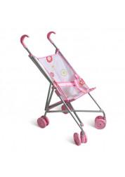 1toy коляска для кукол 39х285х55см розовая Т52257