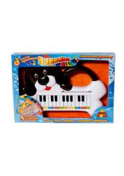 Тилибом пианино Собачка 3 карточки-мелодии Т56831