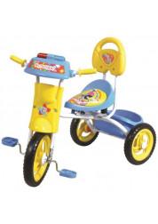 Велосипед детский 1toy Ну, погоди!! 3-х колесный 10 дюймовый Т54034