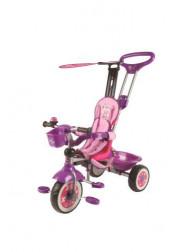 Велосипед детский Disney3-х колесный с ручкой Т54921