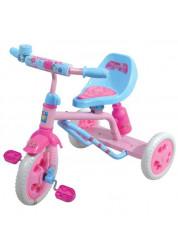 Велосипед детский 1toy Красотка 3-х колесный 10 дюймовый Т57605