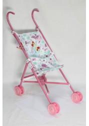 1toy Winx коляска для кукол 42х275х58см розовая Т56207