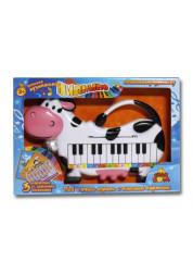 Тилибом пианино Коровка 3 карточки-мелодии Т56833