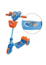 Самокат детский 1toy Hot wheels 3-х колесный Т57577