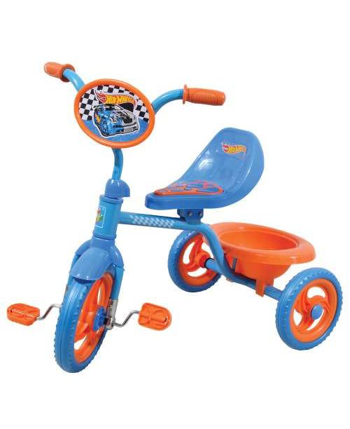 Велосипед детский 1toy Hot Wheels 3-х колесный 10 дюймовый Т57610