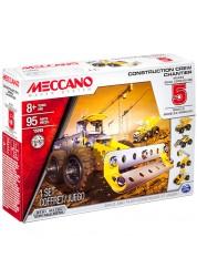 Конструктор Меккано Набор строительной техники (5 моделей) Meccano 91675