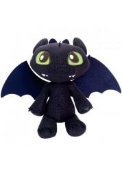 Dragons 66556 Дрэгонс Большой плюшевый дракон Беззубик со звуковыми эффектами