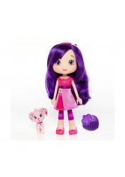 Strawberry Shortcake 12234 Шарлотта Земляничка Кукла 15 см с питомцем, Вишенка