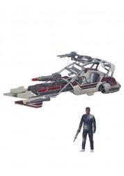 Космический корабль вселенной Звездные войны 9,5 см Класс 2 Hasbro B3672