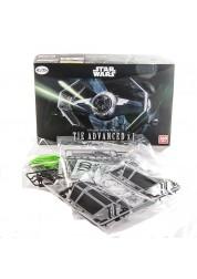 Звездные Войны Сборная модель Истребитель TIE Advance 1:72 Star Wars Bandai 84611