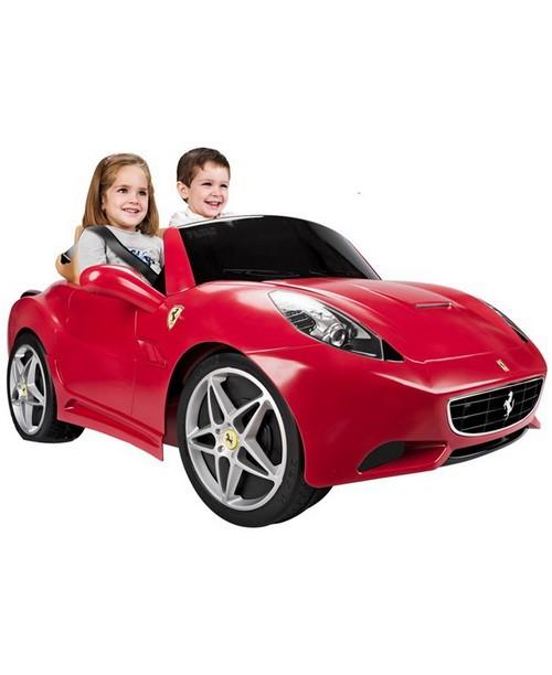 Детский двухместный электромобиль Феррари Калифорния 12V