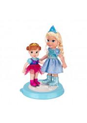 Игровой набор Две куклы на катке Холодное Сердце Дисней