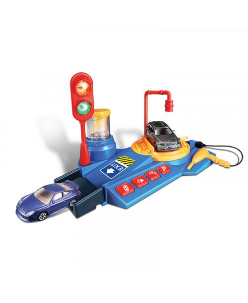 Игровой Набор Мойка машин Bburago