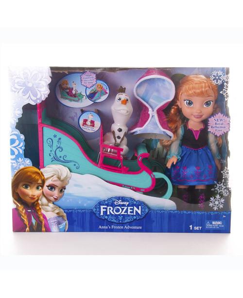 Игровой набор Принцессы Приключение Анны Дисней Холодное Сердце