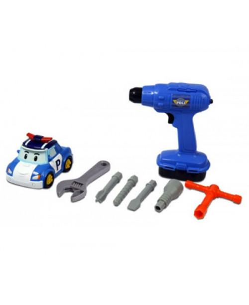 Набор иструментов с умной машинкой Робокар Поли