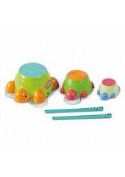 Черепашки-барабаны для ванны Little Tikes
