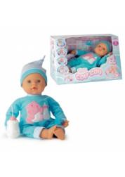 Кукла Пупс 45 см 45311 Смеется, сосет соску и бутылочку, закрывает глазки ручками.
