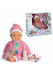 Кукла Пупс 45 см 48307 плачет, когда растут зубки, сосет бутылочку