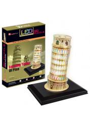Пизанская башня с иллюминацией