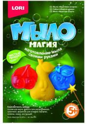 Набор изготовления мыла своими руками Мыло Магия Фруктовое ассорти