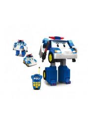 Робот-трансормер 83185 Поли на радиоуправлении 31 см Robocar Poli