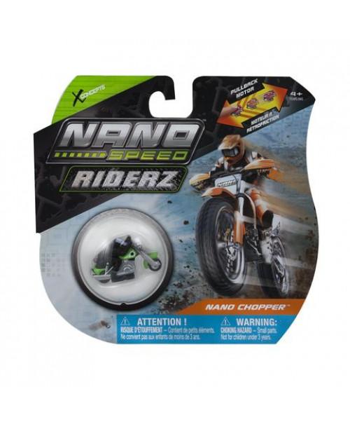 Игрушка Nano Speed Инерционный мотоцикл