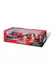 Игрушка Гараж Ferrariс 4-мя машинами Bburago