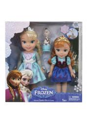 Игровой набор 2 куклы и Олаф Холодное Сердце Дисней