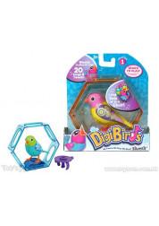 Digibirds Птица с клеткой с подставкой и кольцом