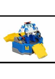 Robocar Poli Кейс с трансформером Поли 12,5см с гаражом