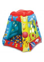 Игровой центр-палатка Микки Маус Считай со мной с 20 мячами