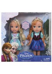 Игровой набор малышки 26 см Дисней 2 куклы Холодное Сердце