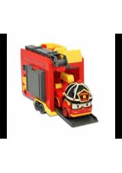 Robocar Poli Кейс с трансформером Рой с гаражом